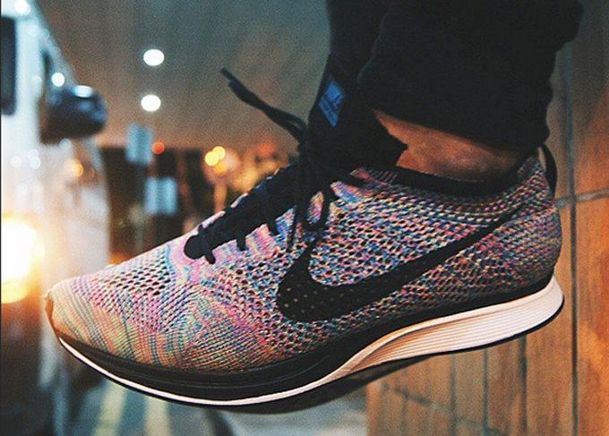 the best attitude 6caf9 cad82 nike flyknit femme multicolor
