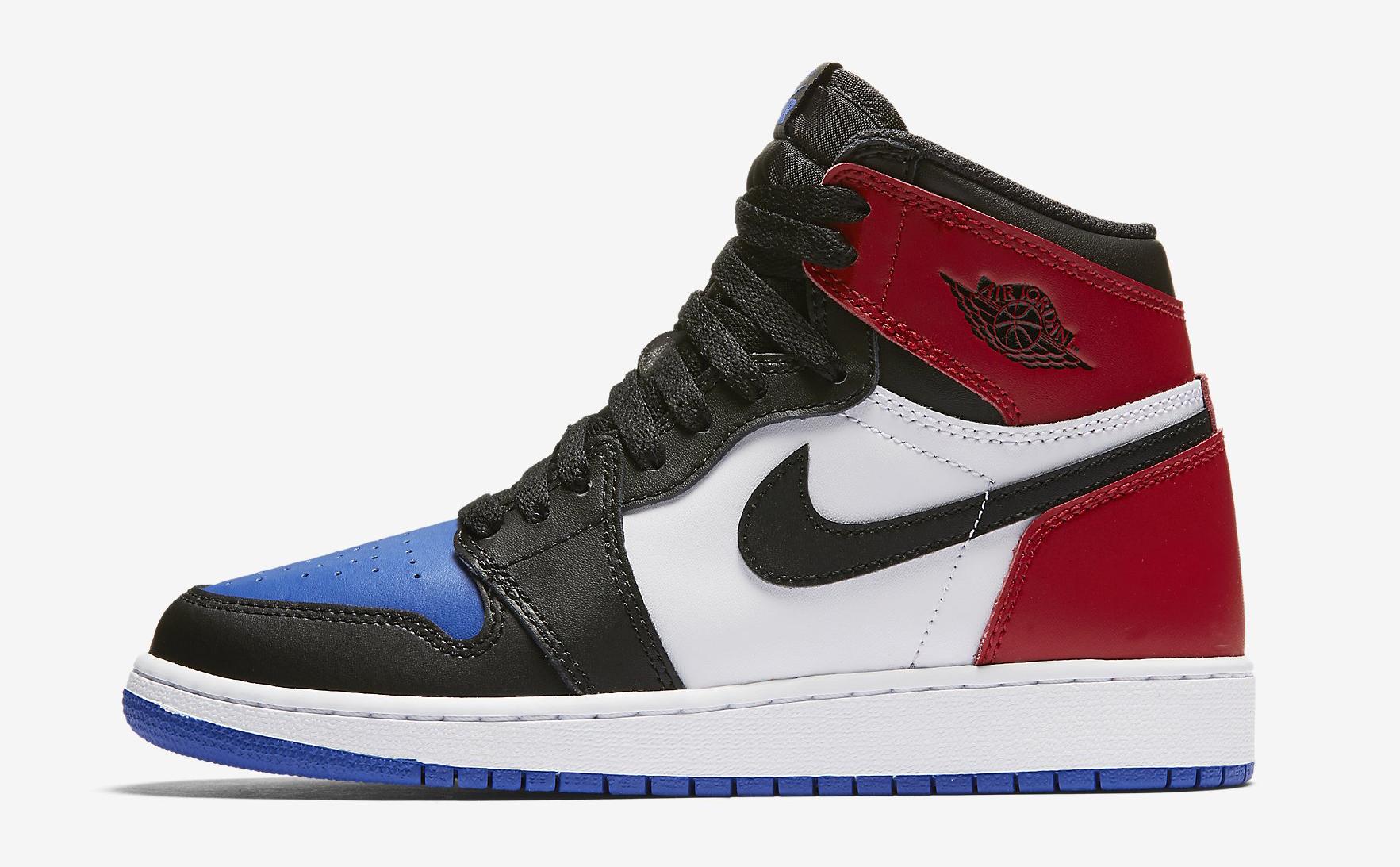 Top Three Air Jordan 1 GS 575441-026