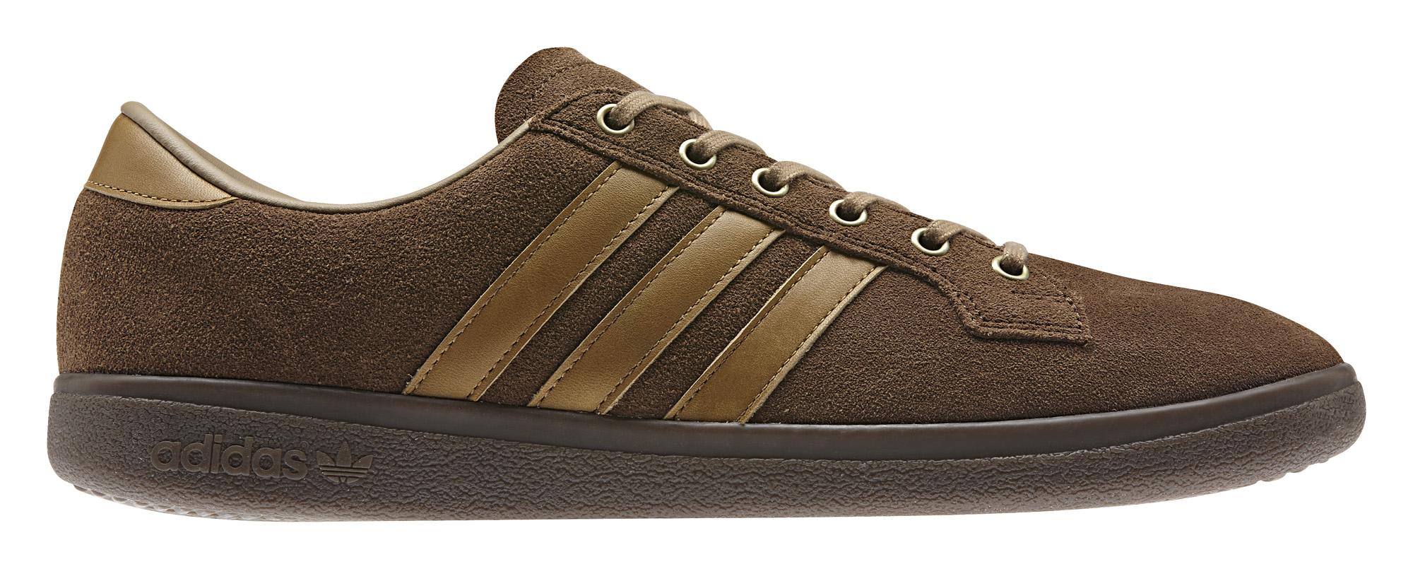 Adidas Spezial Bulhill Brown Profile
