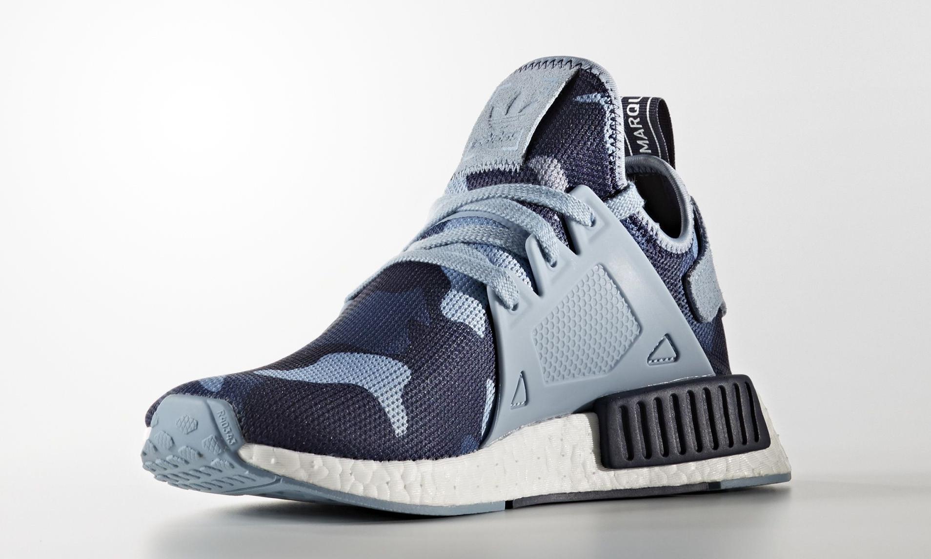 official photos 4033e 0f3be Blue Camo Adidas NMD XR1 | Sole Collector