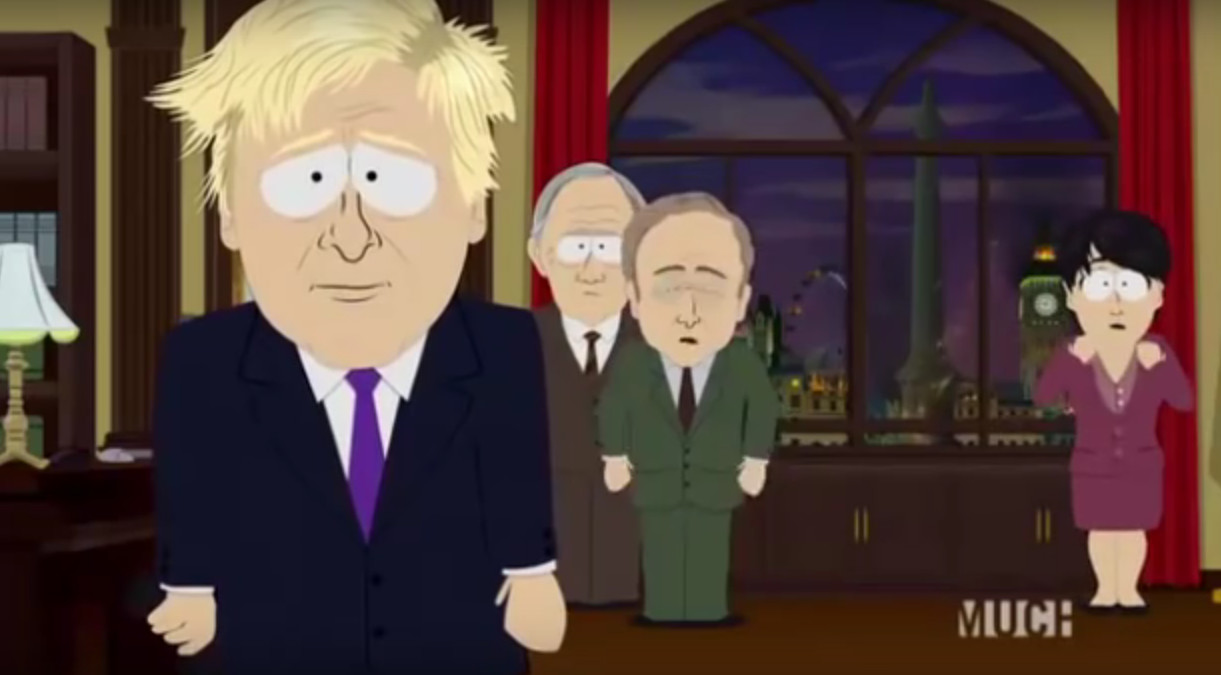 Boris Johnson in South Park