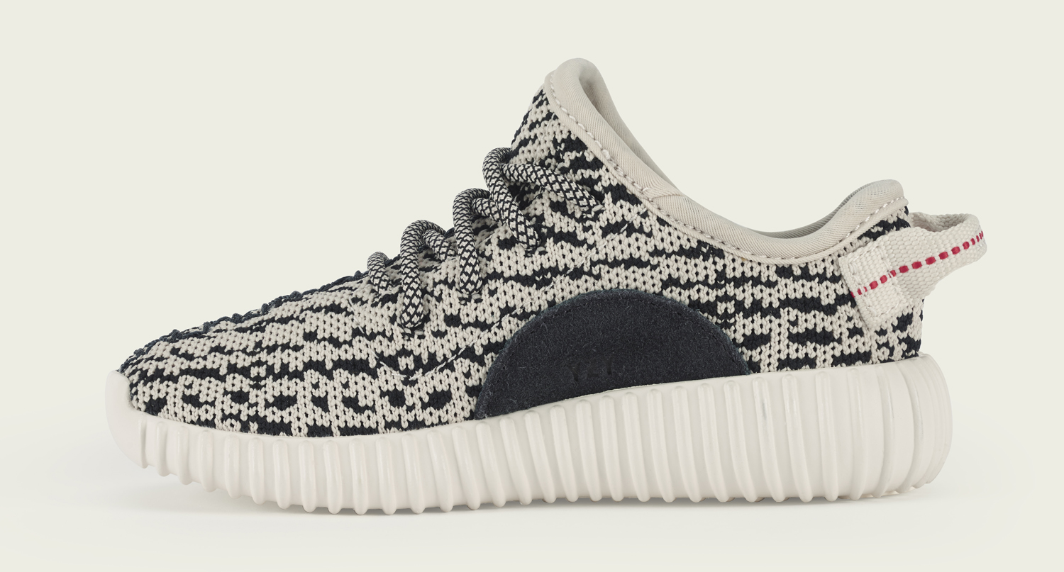 Infant Yeezy Boost Turtle Dove Medial