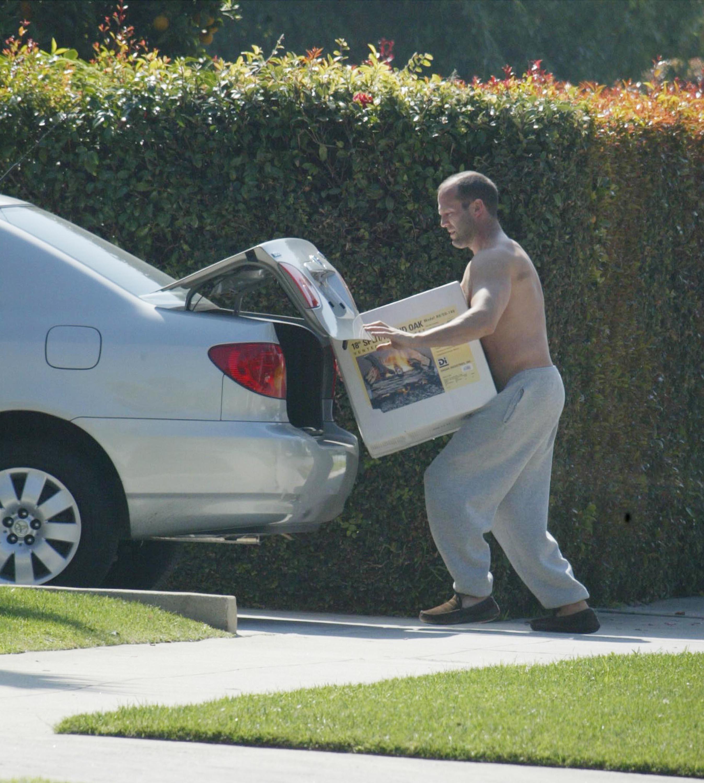Jason Statham chores