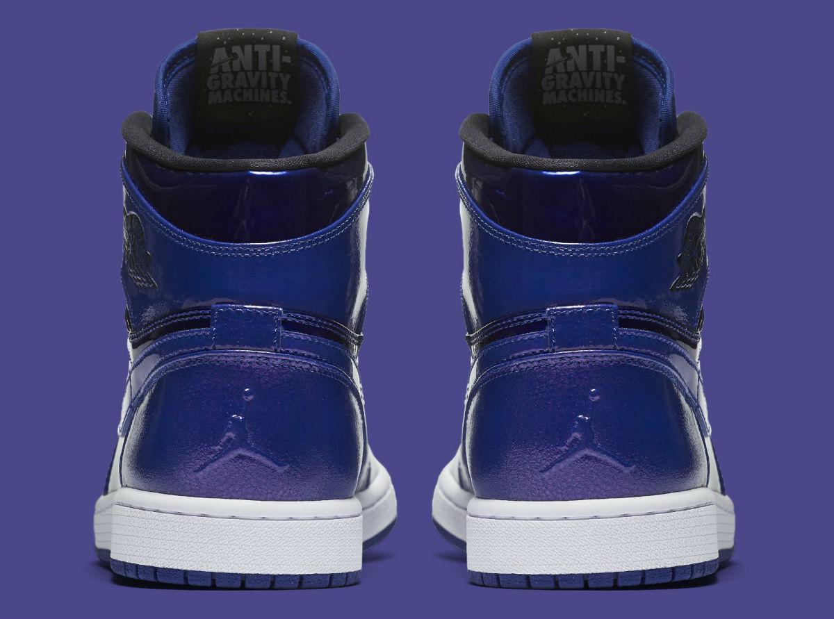 Air Jordan 1 Deep Royal Patent Heel 332550-420