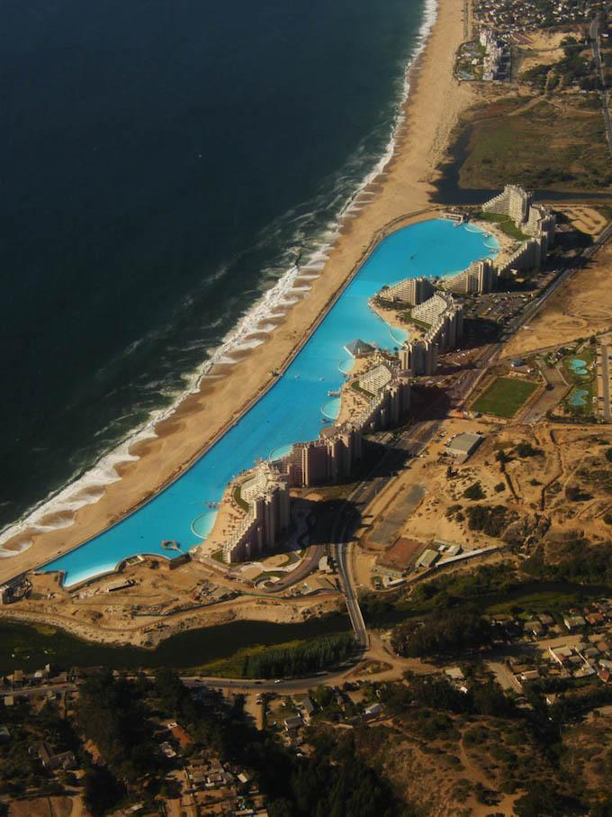 World 39 s largest swimming pool complex - San alfonso del mar swimming pool ...