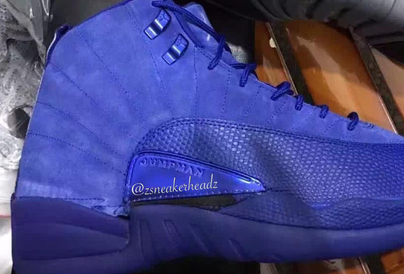 c2f8ee3e37d3bc Jordan 12 Deep Royal Blue