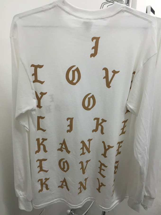 Photo 12 from Kanye West's NYC pop-up shop.