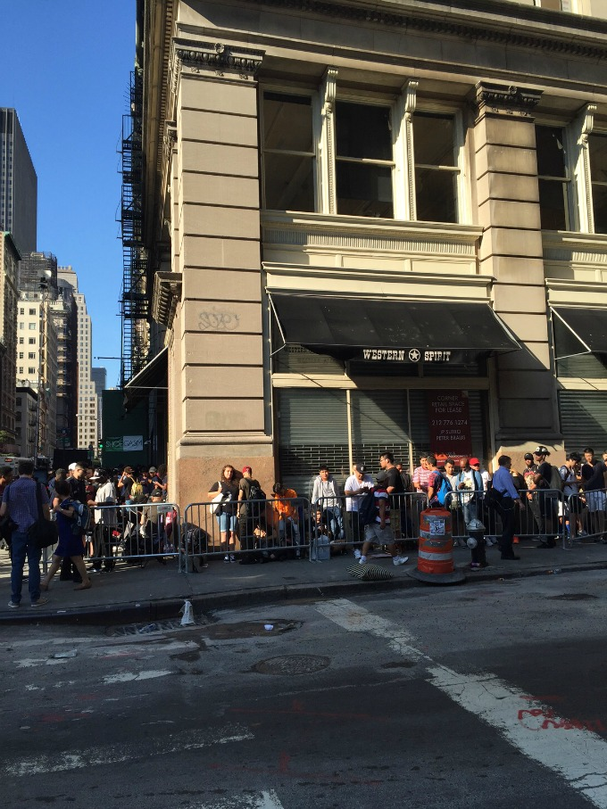 Photo 2 from Kanye West's NYC pop-up shop.
