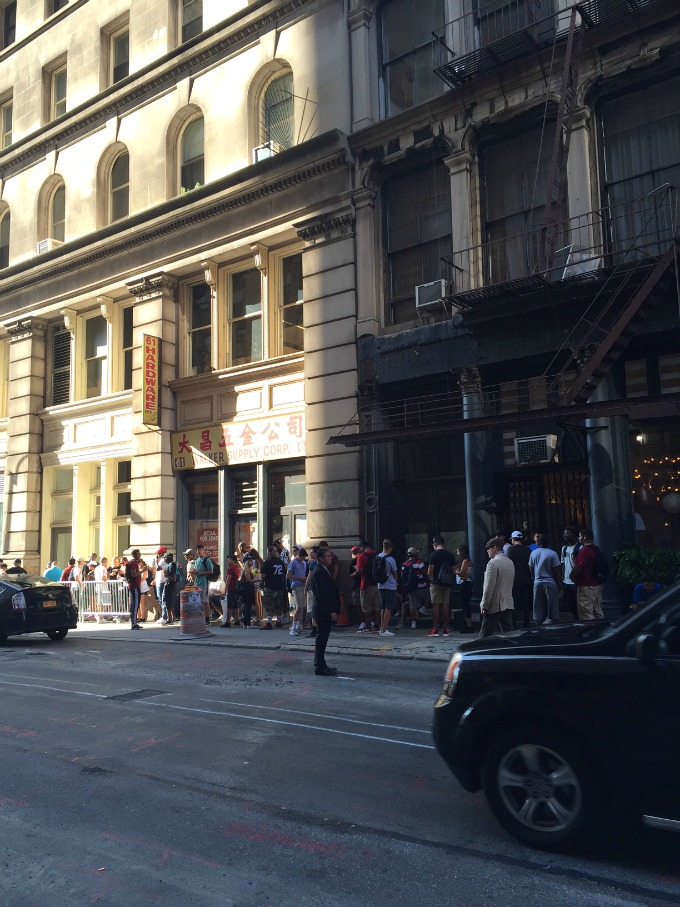 Photo 3 from Kanye West's NYC pop-up shop.