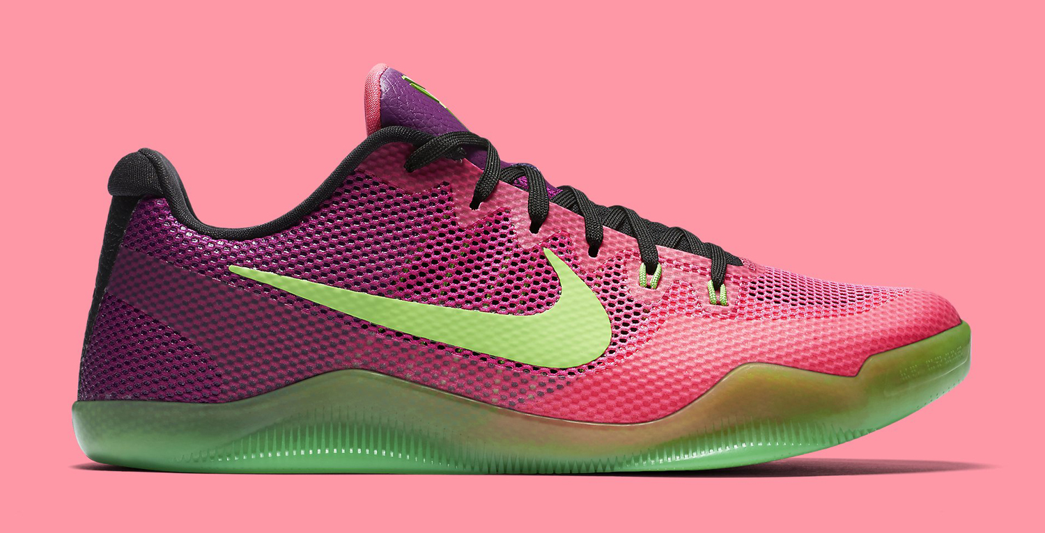 reputable site 052a3 4a6aa Mambacurial Nike Kobe 11 On Feet | Sole Collector
