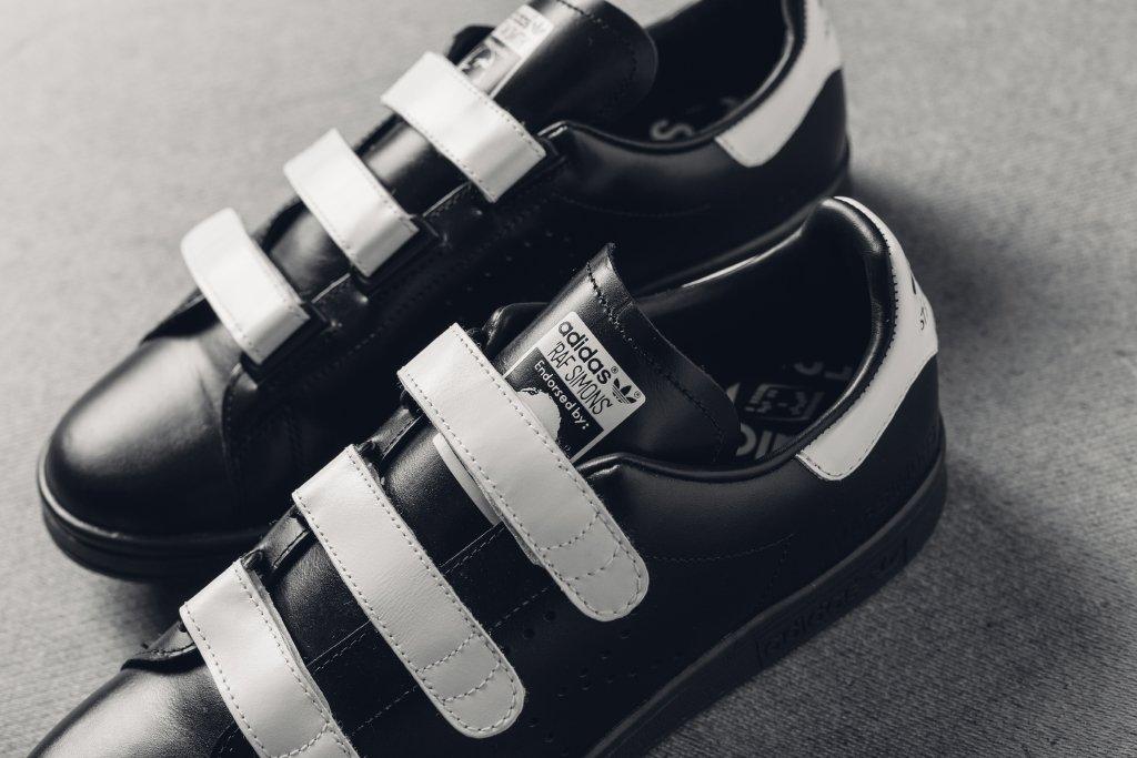lowest price b00ed 127a7 Raf Simons Adidas Stan Smith Comfort Black White | Sole ...