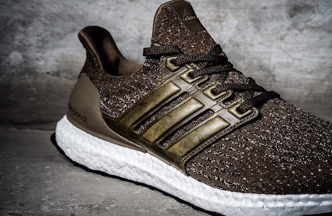 Adidas Ultra Boost 3.0 Brown Leather Cage | Sole Collector