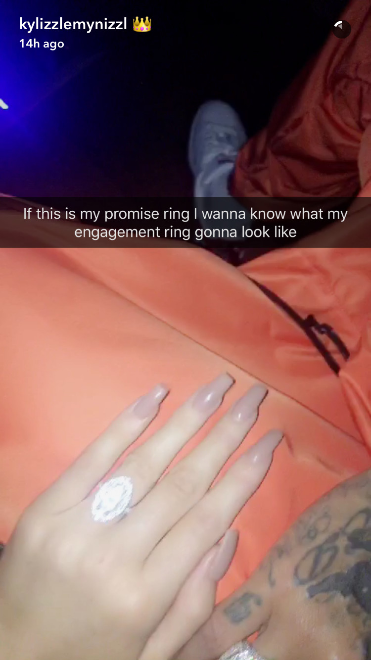 Tyga Put a (Promise) Ring on Kylie Jenner news