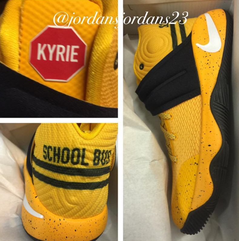 size 40 a4248 49b05 Nike Kyrie 2 School Bus | Sole Collector