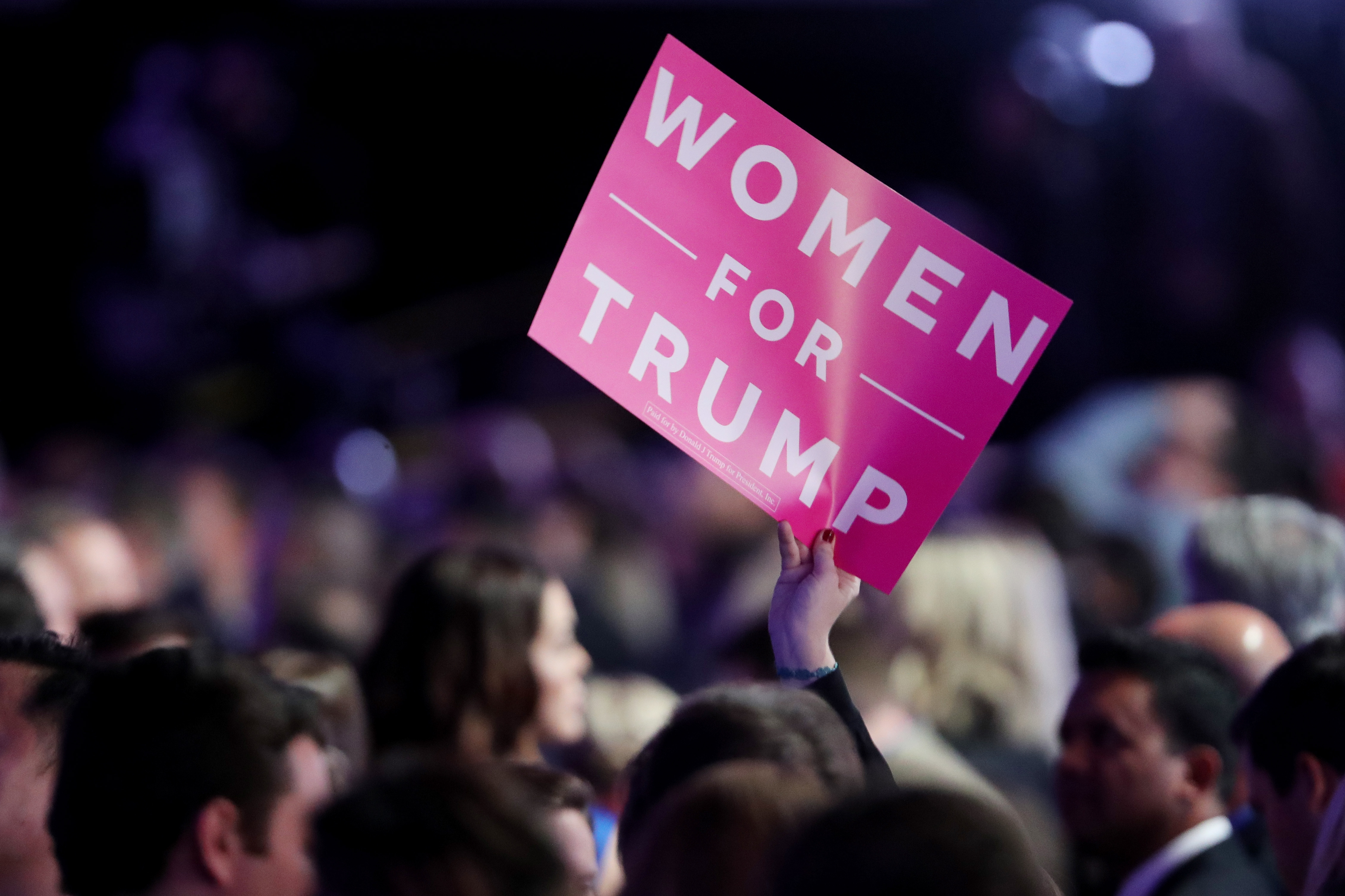 Women For Trump Sign