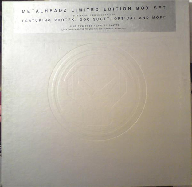 metal box set vinyl 25 Essential Metalheadz Tracks