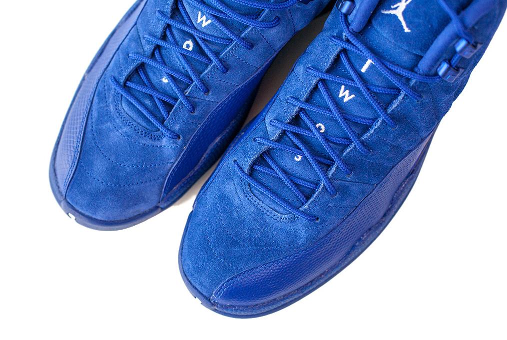 Air Jordan 12 130690-400 Blue Toe