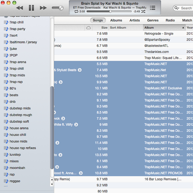 pull songs by grouping A Guide to How DJs Should Organize Files