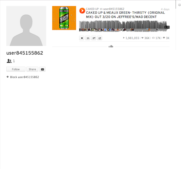 soundcloud comuser845155862 Has SoundCloud Created Their Own Bots to Sway Numbers on Selected Accounts?