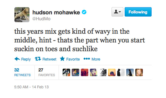 hudmo sucktoes Download Hudson Mohawkes Slow Jams, Chapter VI Mix