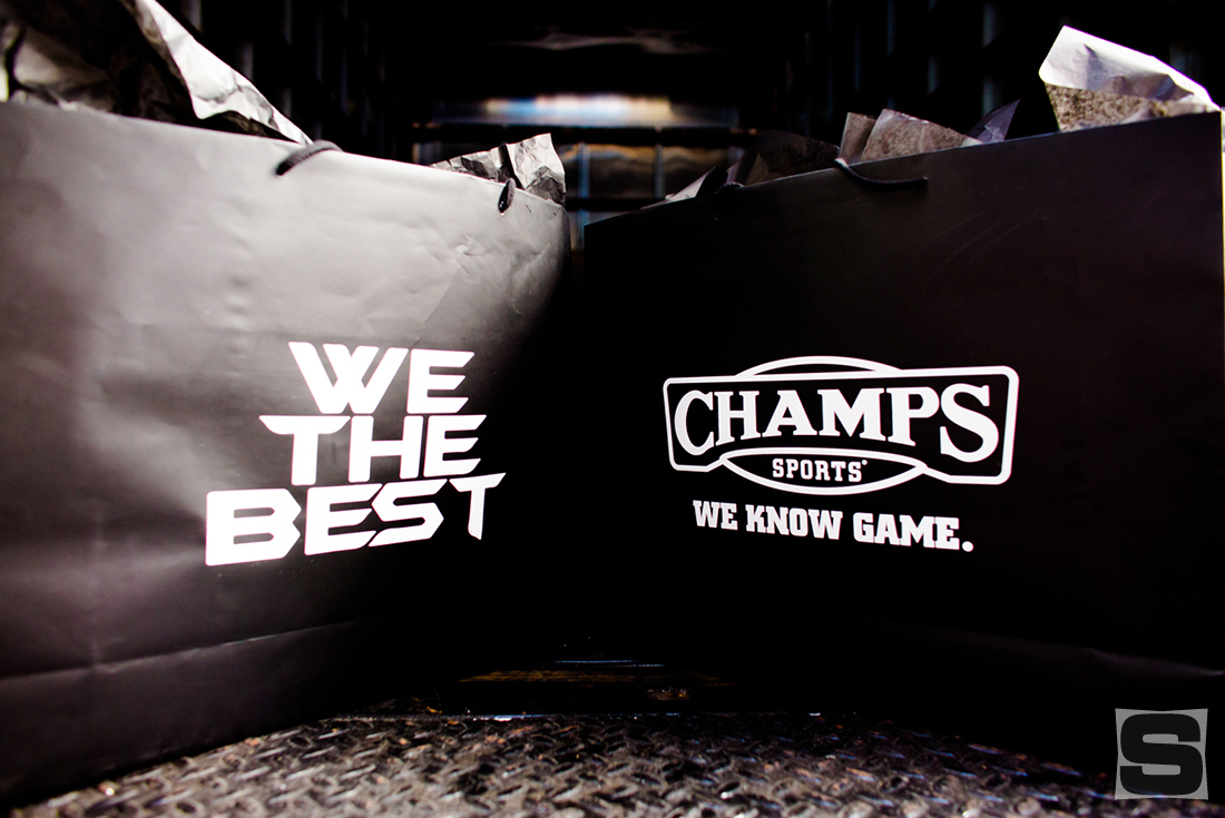 DJ Khaled Miami Champs Sports Store Bags