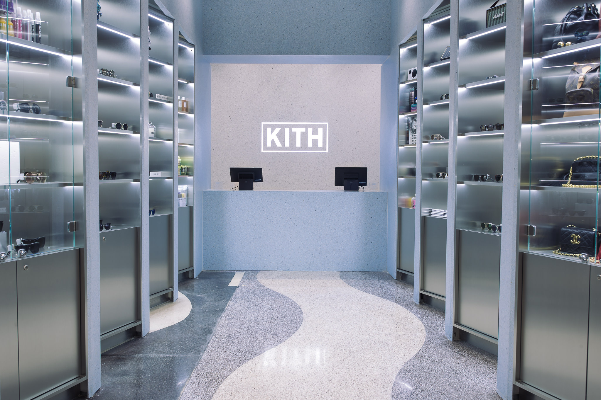 This is Kith's Miami store.