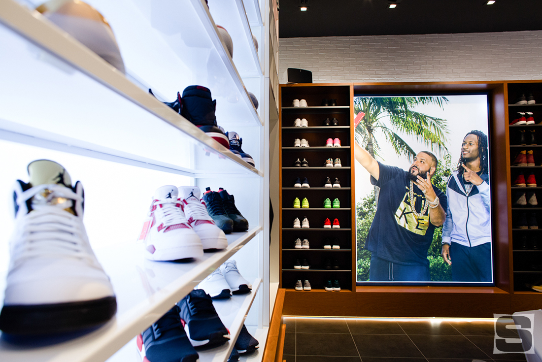 Inside DJ Khaled's Champs Sports Store | Sole Collector