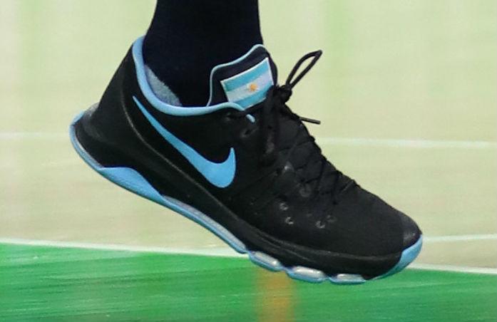best sneakers e7dca 4e022 Manu Ginobili Argentina Nike KD 8 | Sole Collector