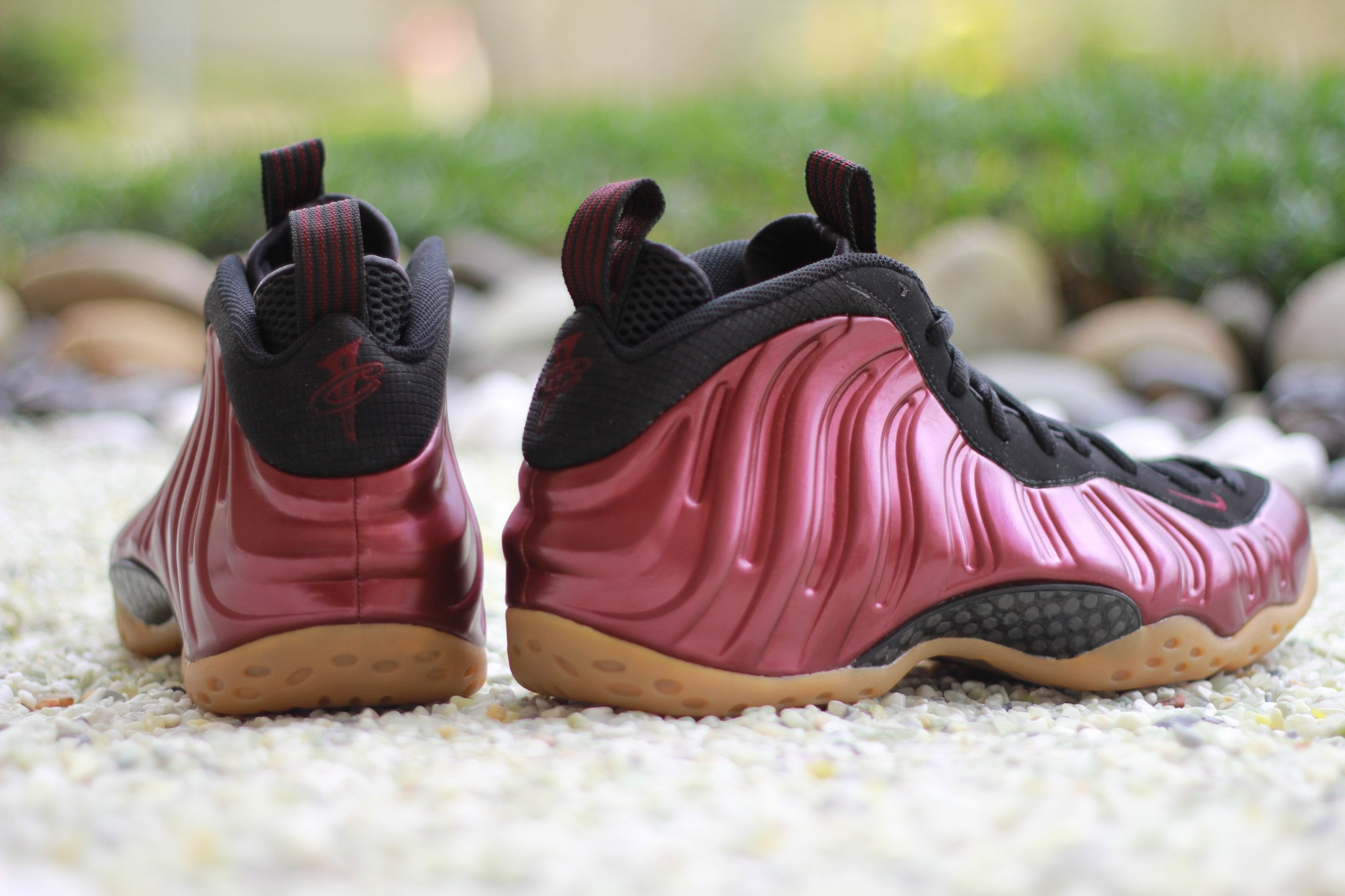 low priced 32df4 81364 Nike Foamposite Maroon Gum | Sole Collector