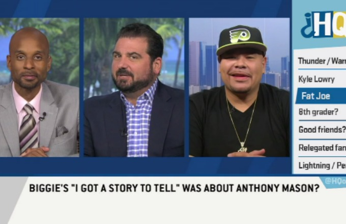 "Fat Joe Reveals Which Knicks Player Biggie Was Referencing on ""I Got a Story to Tell"" news"