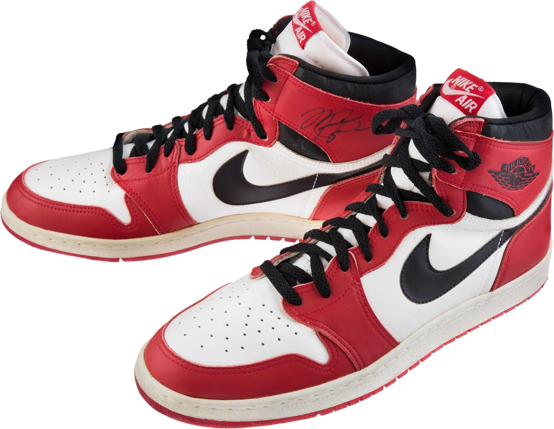 Michael Jordan Signed Air Jordan 1 1985 Mint Condition