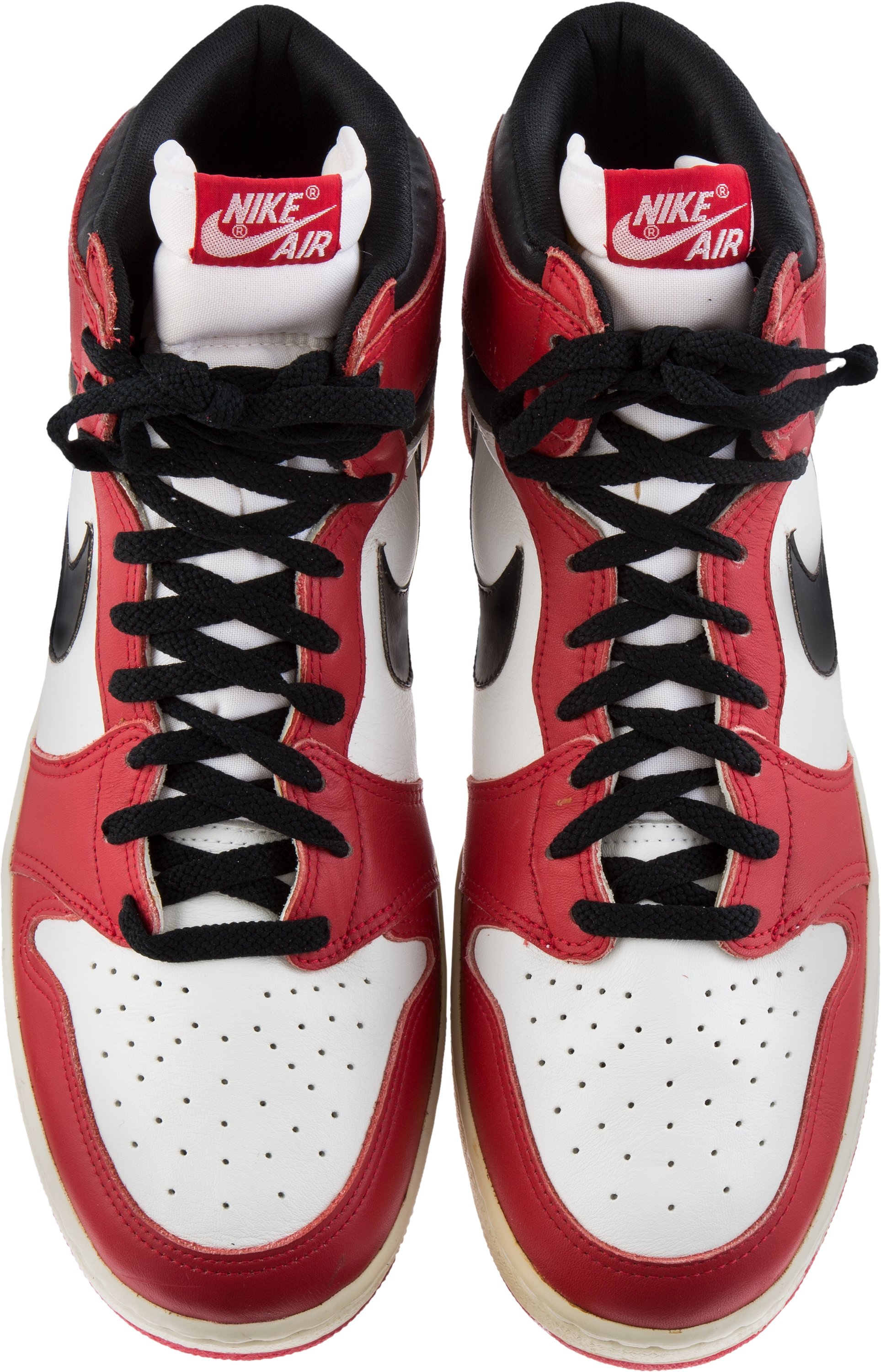 competitive price 89447 6d3d6 Michael Jordan Signed Air Jordan 1 1985 Mint Condition ...