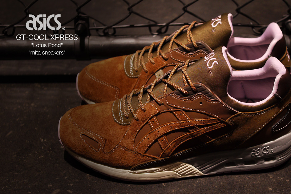 brand new e89b4 b9286 Mita Sneakers Asics GT Cool Express Lotus Pond | Sole Collector