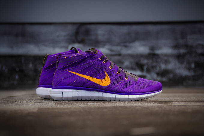 Alfombra Roja Nike Flyknit Libre Chukker Gris qNExugiW