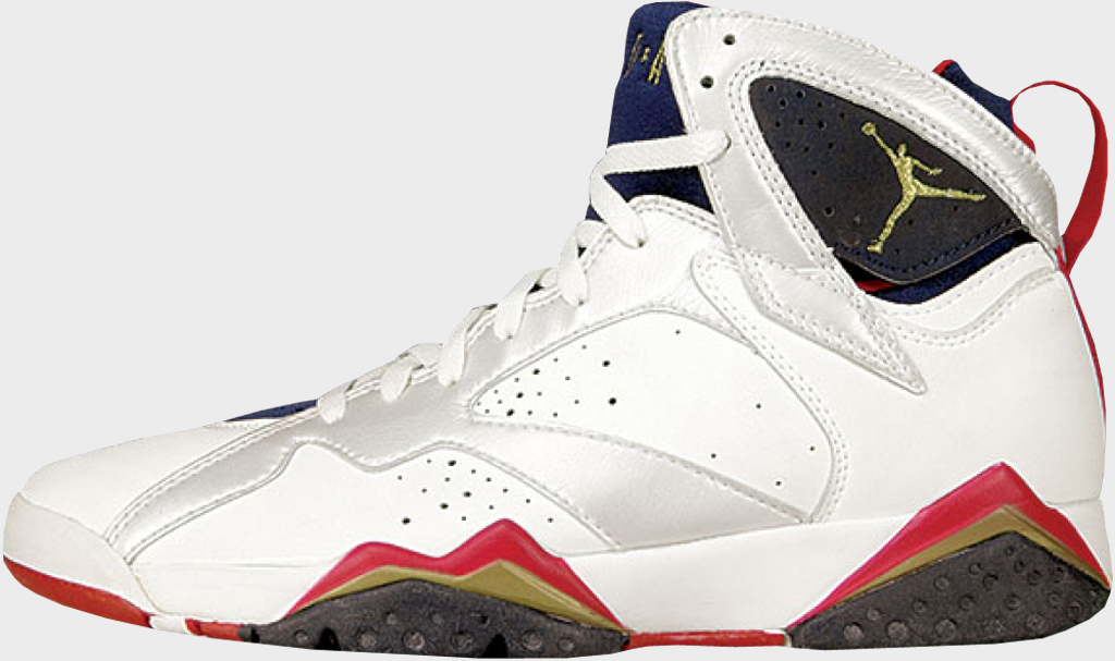 Air Jordan 7 Navy Blue And White