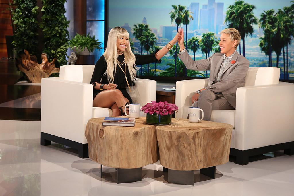Nicki Minaj Talks Meek Mill, Engagement Rumors, and More on 'Ellen' news
