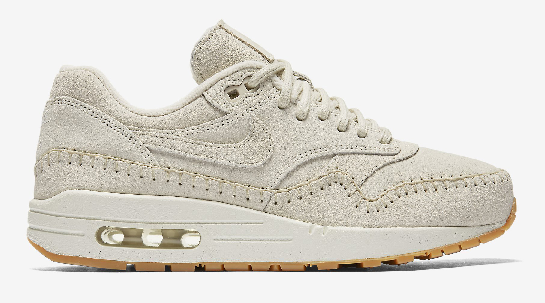 Nike Air Max 1 Sherpa Cream 454746-204 Profile