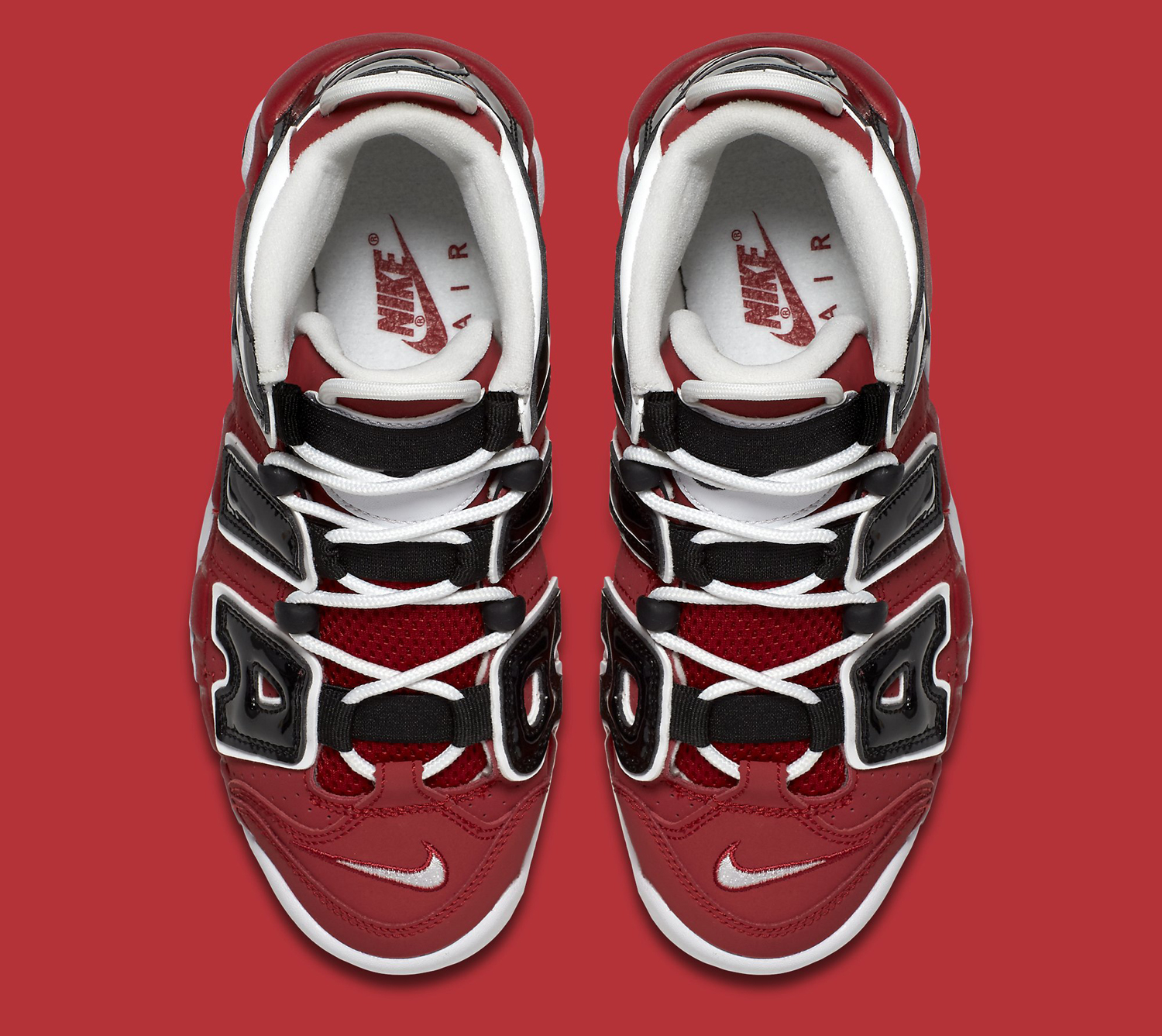 bcd6650b4e3 Nike Air More Uptempo Red White Black | Sole Collector