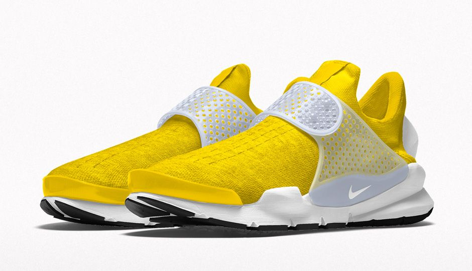 Nike iD Sock Dart New Options Yellow Heather