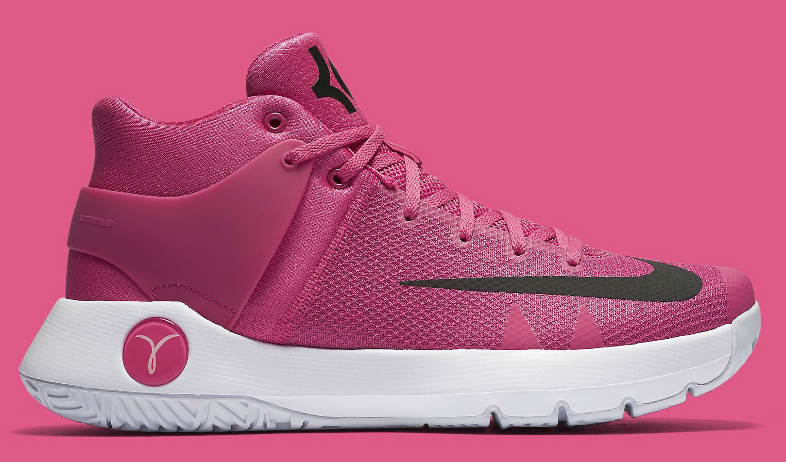 reputable site 53056 f15bc Nike KD Trey 5 IV Think Pink Breast Cancer Kay Yow 844573 ...