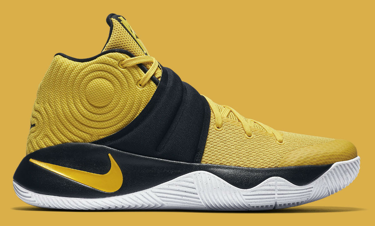 the best attitude 6b16a 9e59f Nike Kyrie 2 Australia Yellow 819583_701 | Sole Collector