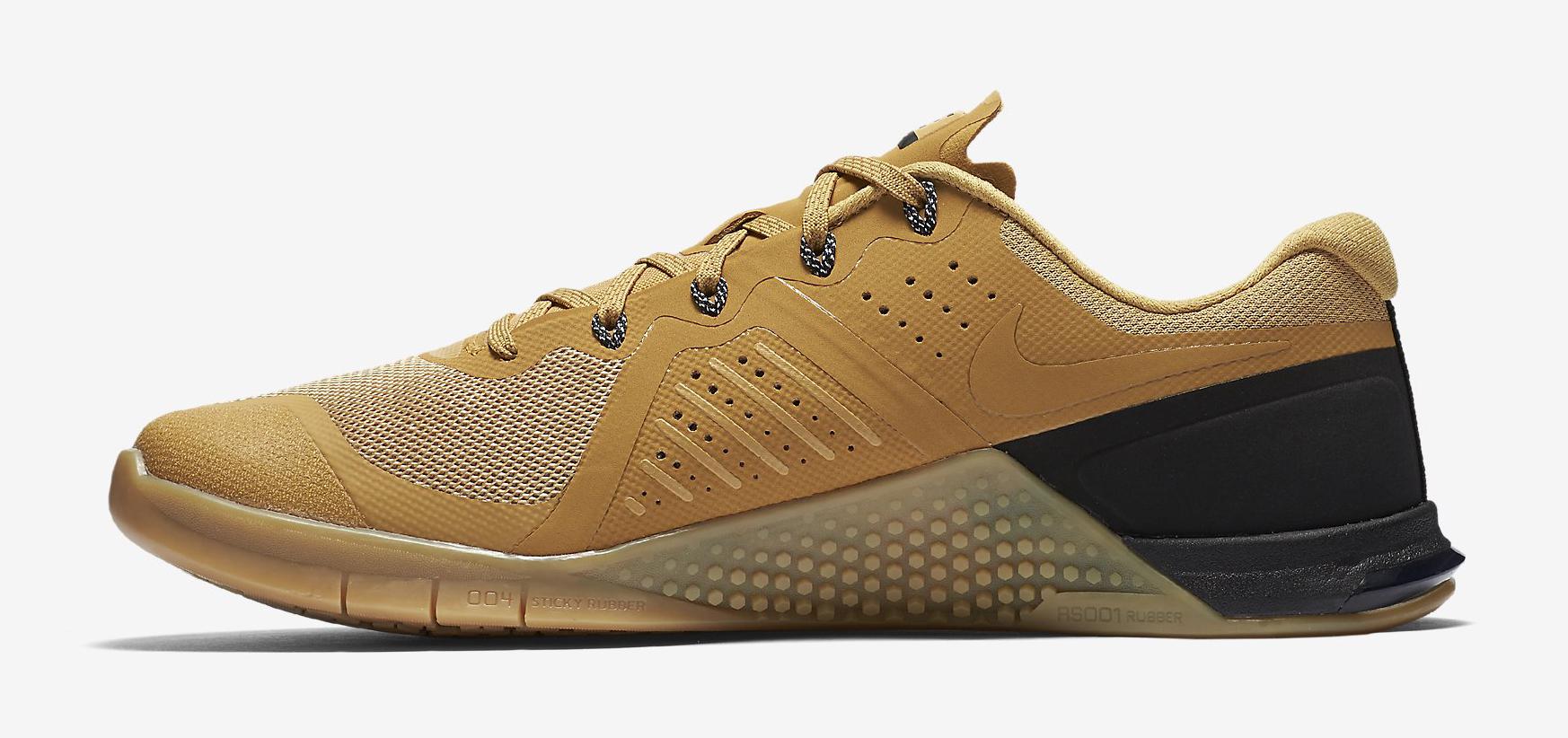 Nike Metcon 2 Wheat 819899-702 Medial