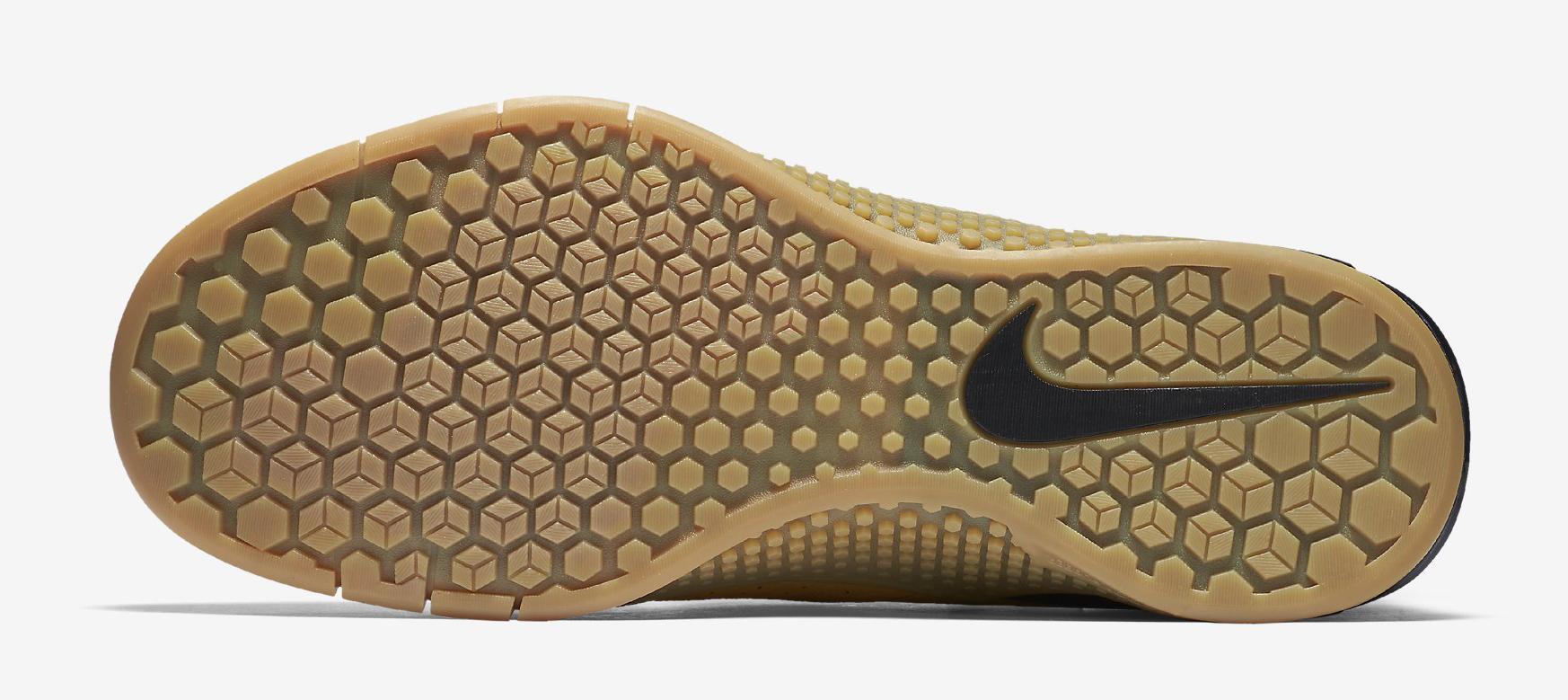 Nike Metcon 2 Wheat 819899-702 Sole