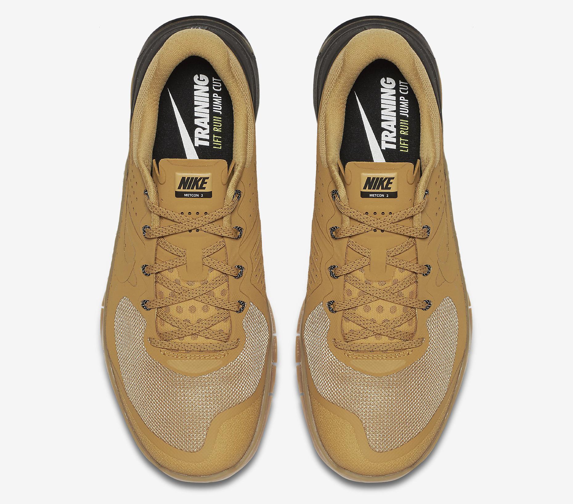 Nike Metcon 2 Wheat 819899-702 Top