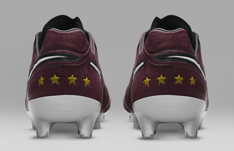 Nike Tiempo Pirlo Football Boots Wine Sole Collector