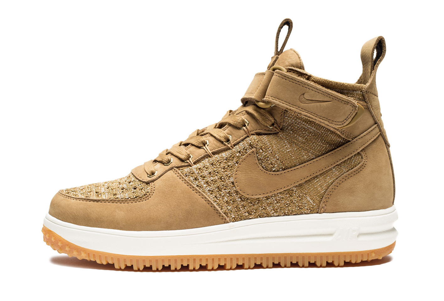 BootSole Lunar Force 1 Collector Flyknit Nike Wheat bfy7g6