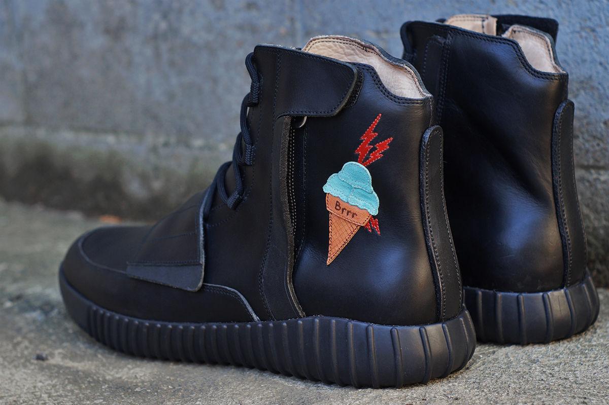 Gucci Mane Custom Yeezys   Sole Collector