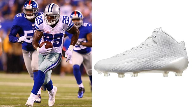 No Green Shoes For Football Running Back