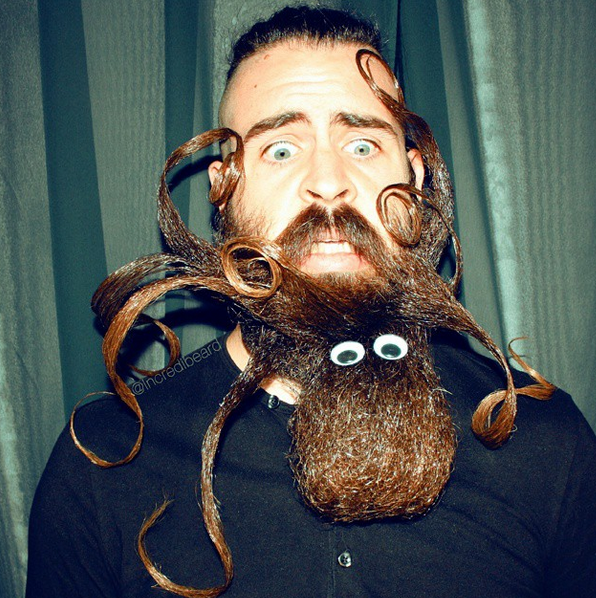 This Man Turns His Beard Into Impressive Shapes and Designs | Complex