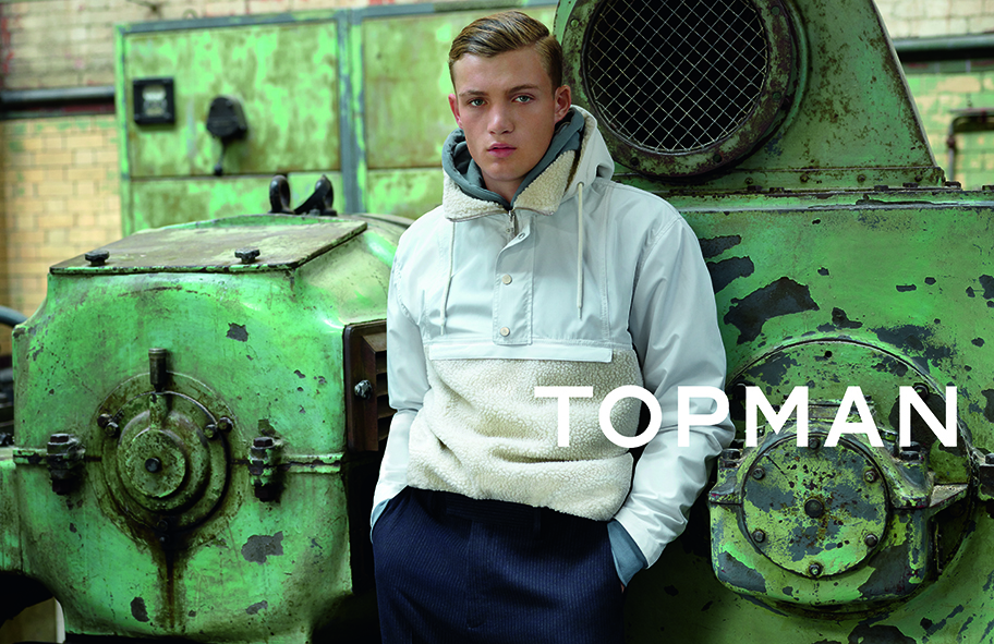 This is Gosha Rubchinskiy's campaign for Topman.